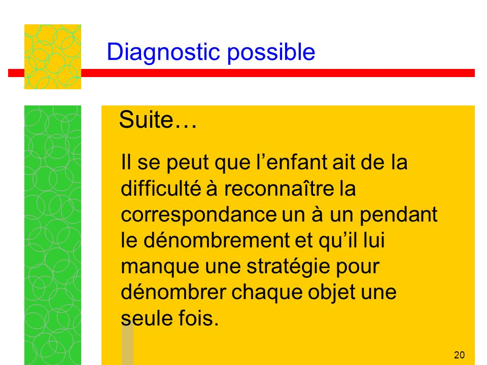 Diagnostic possible Suite…