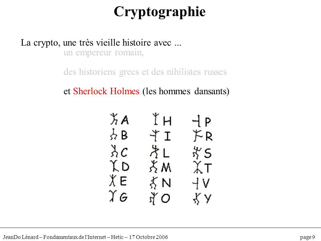 Cryptographie La crypto, une très vieille histoire avec ...