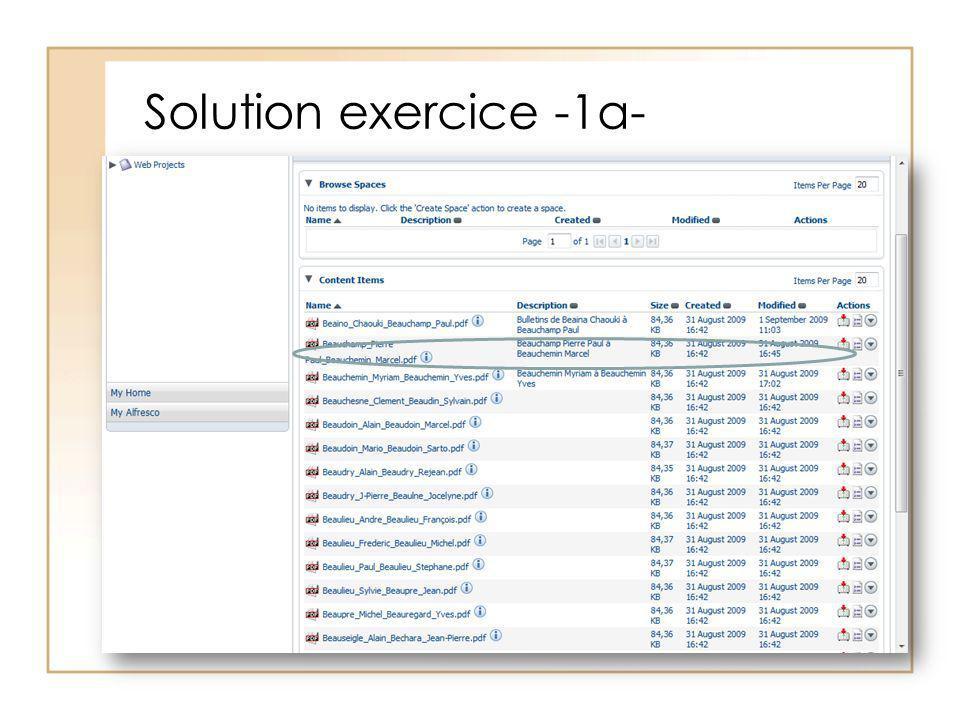 Solution exercice -1a-