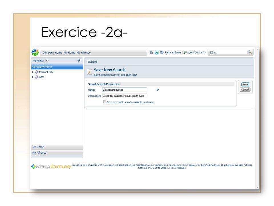 Exercice -2a-