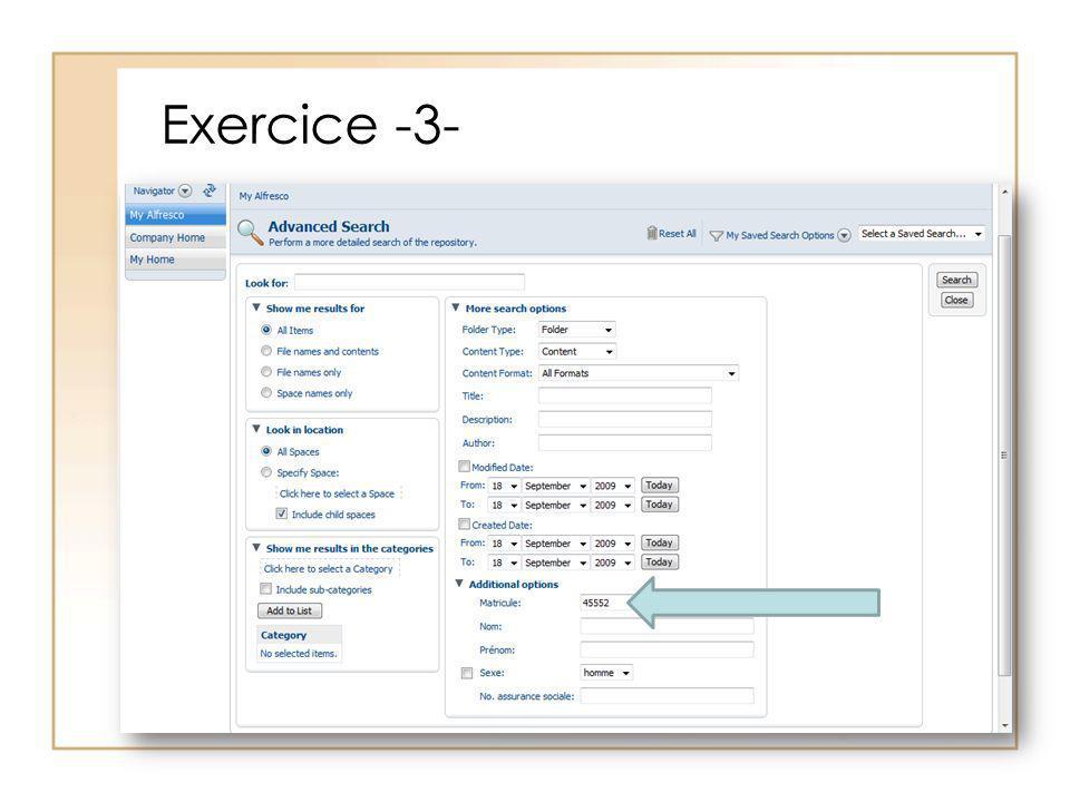 Exercice -3-