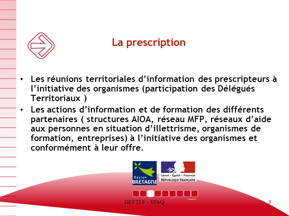 13/03/13 La prescription.
