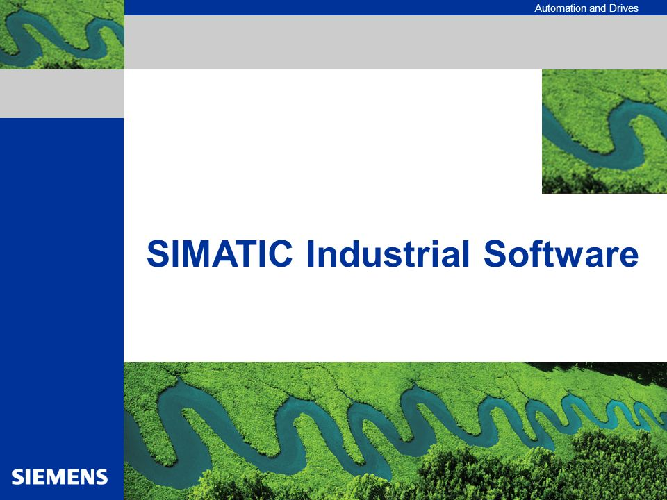 SIMATIC Industrial Software
