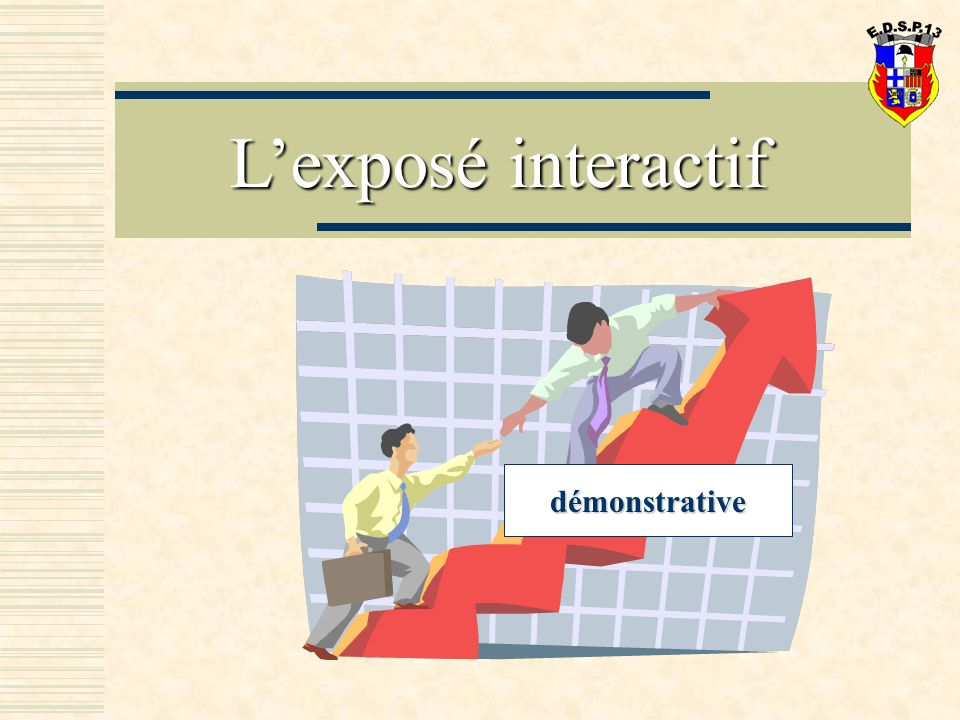 L'exposé interactif démonstrative