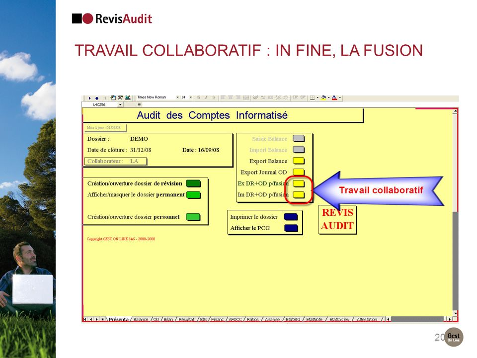 Travail collaboratif : IN FINE, LA FUSION