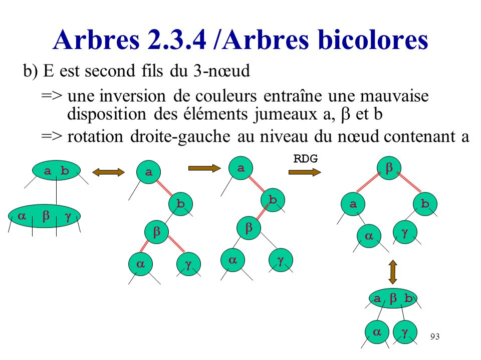 Arbres 2.3.4 /Arbres bicolores