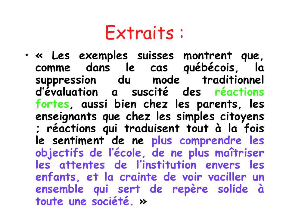 Extraits :