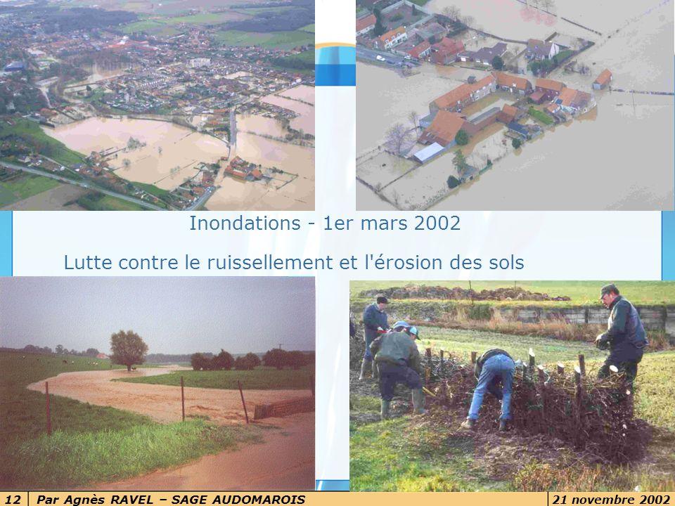 Lutte contre le ruissellement et l érosion des sols