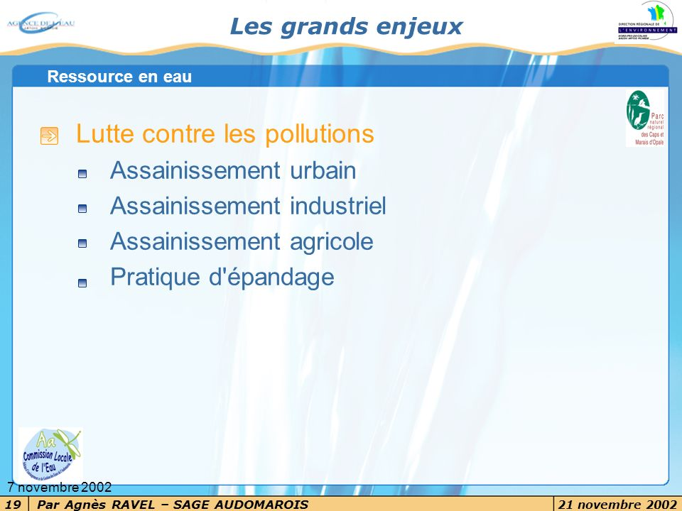 Lutte contre les pollutions