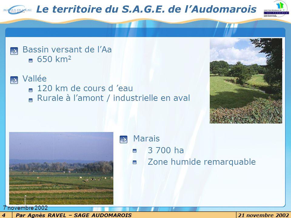 Le territoire du S.A.G.E. de l'Audomarois