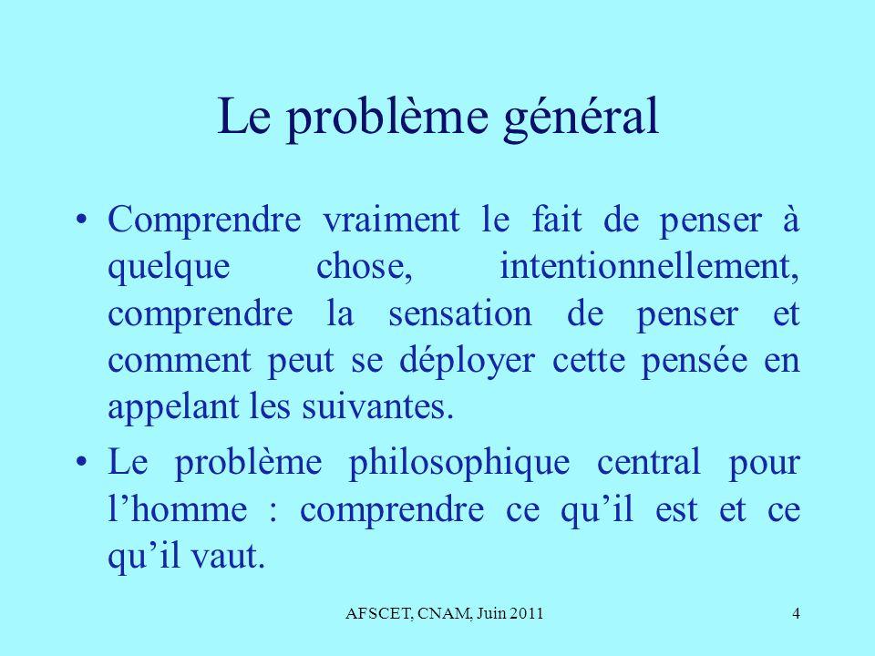 Le problème général