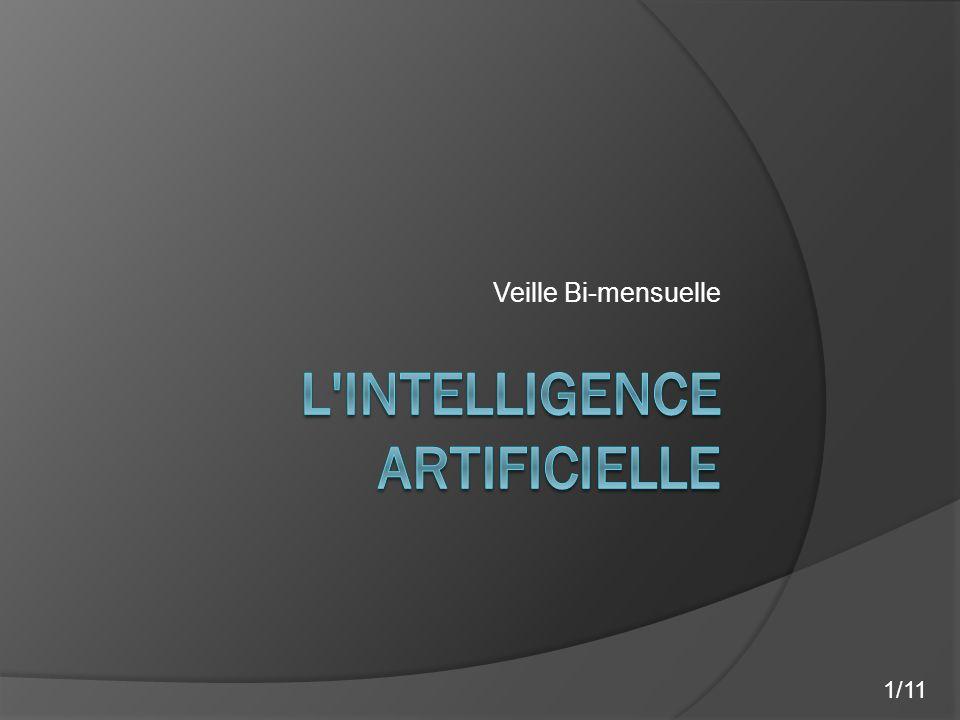 L intelligence artificielle