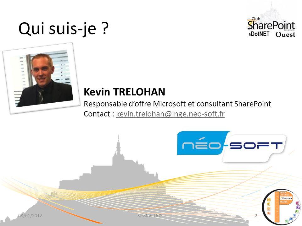Qui suis-je Kevin TRELOHAN