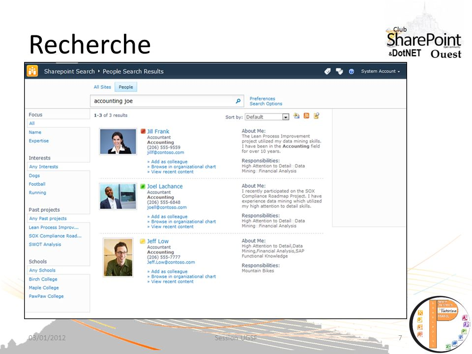 Recherche Find Content Faster MSCOMRTM Page Content 2