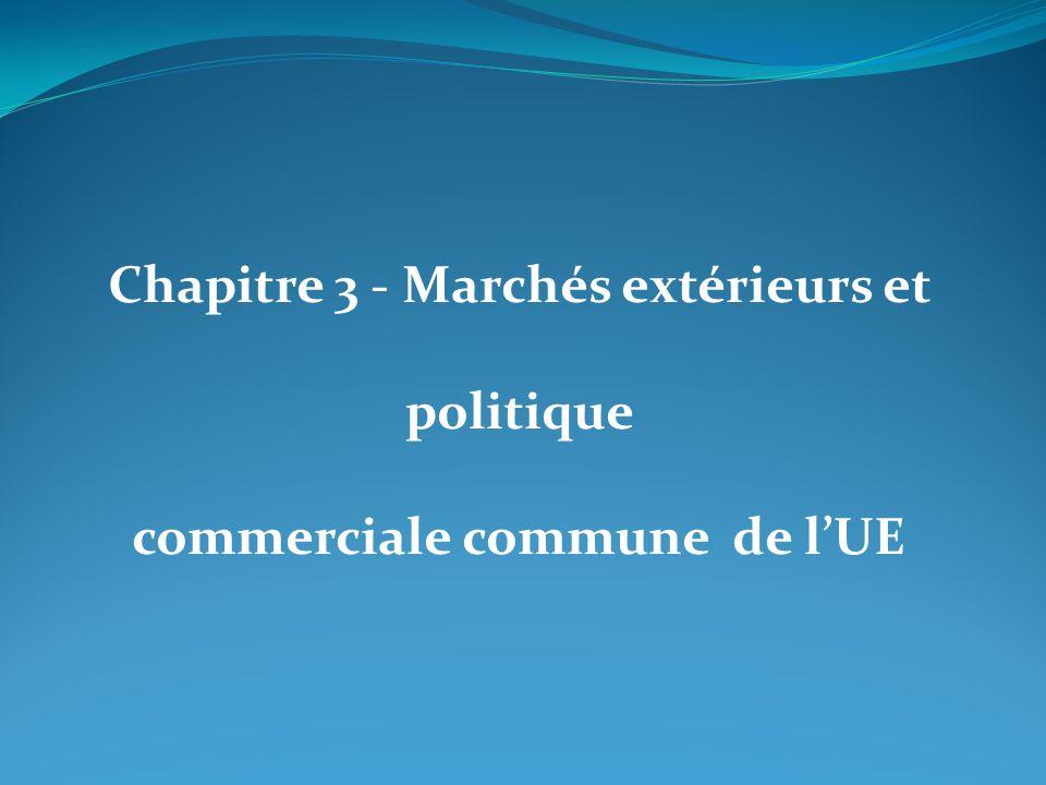 Chapitre 3 - Marchés extérieurs et politique