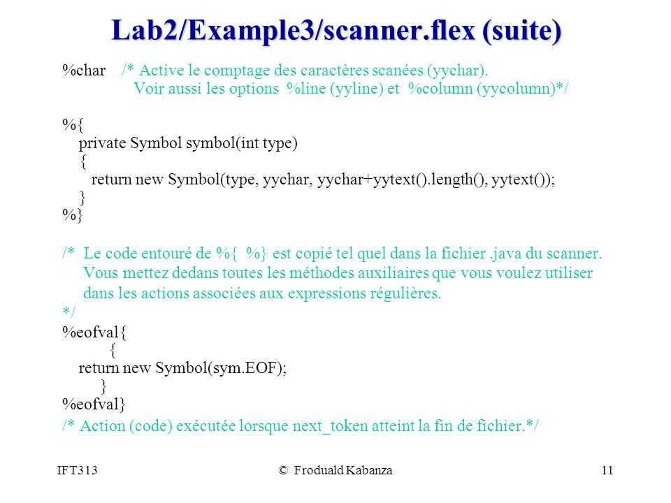 Lab2/Example3/scanner.flex (suite)