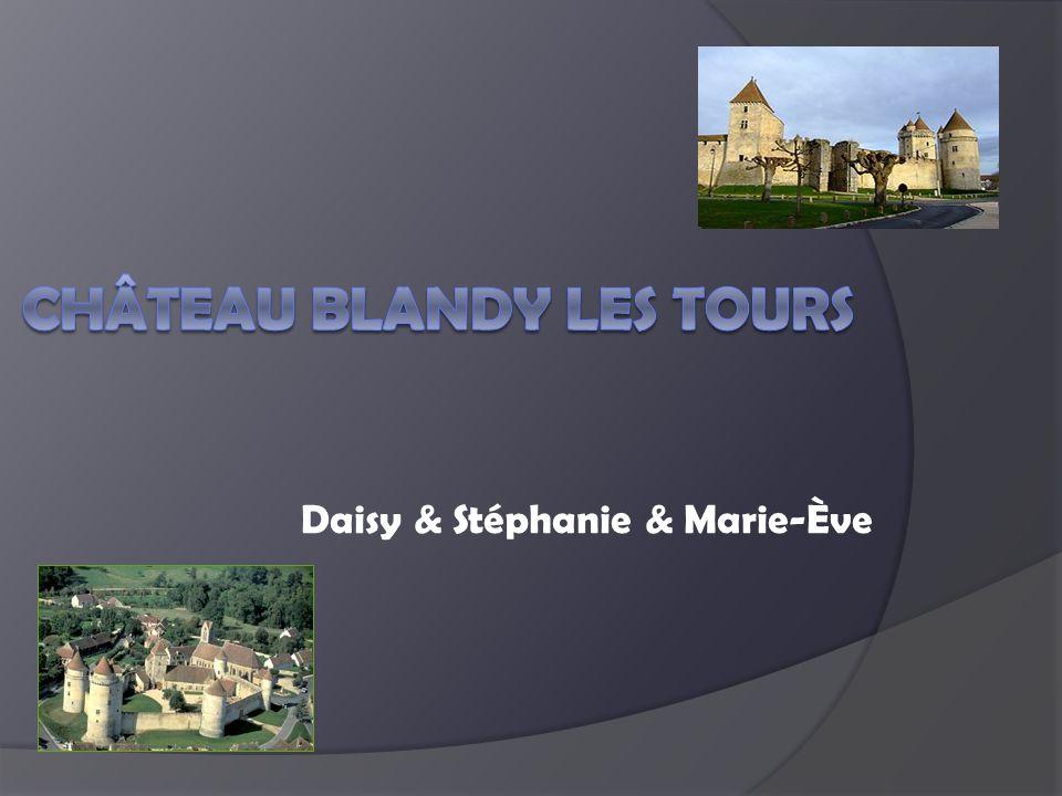 Château Blandy les tours