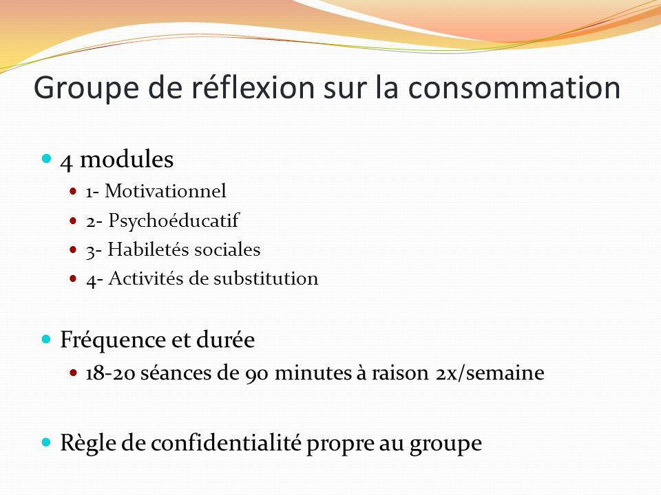 Groupe de réflexion sur la consommation
