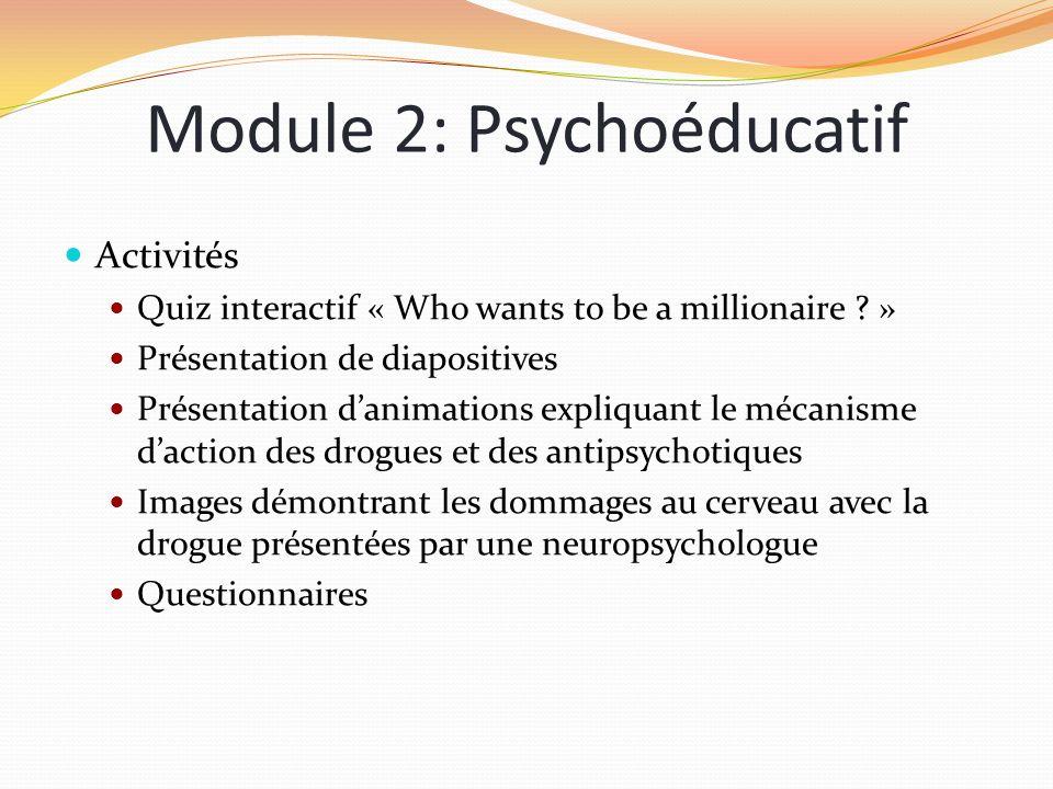Module 2: Psychoéducatif