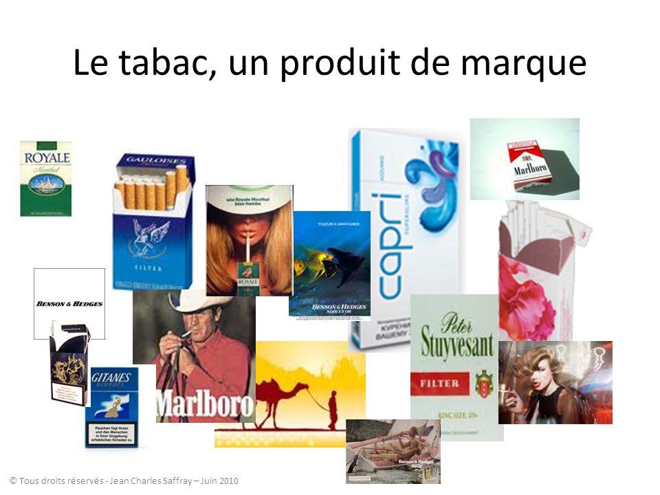 Le tabac, un produit de marque