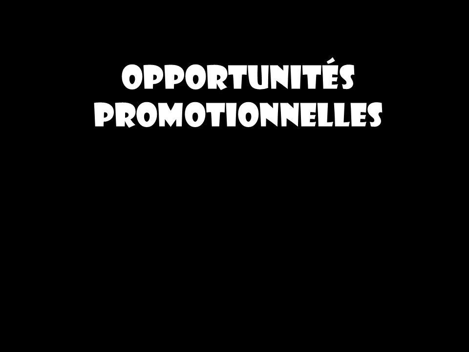 Opportunités promotionnelles