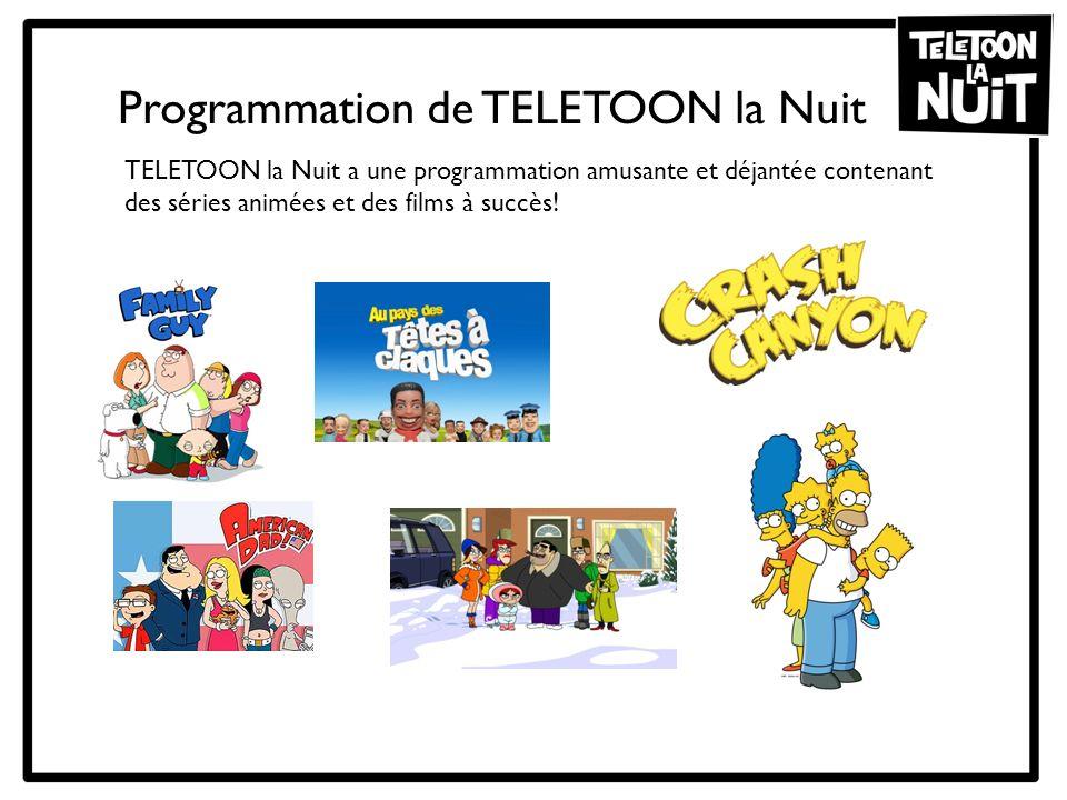 Programmation de TELETOON la Nuit