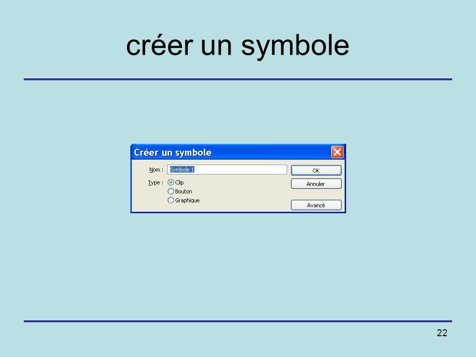 créer un symbole