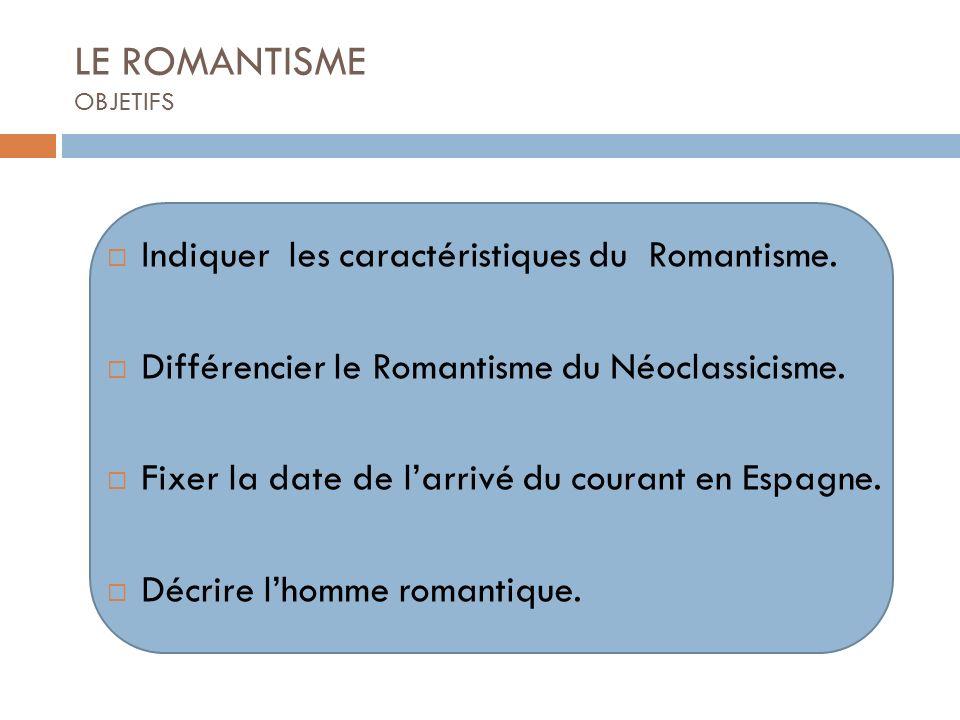 LE ROMANTISME OBJETIFS
