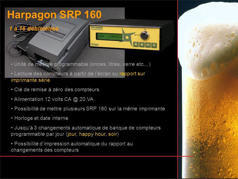 Harpagon SRP 160 1 à 16 débimètres