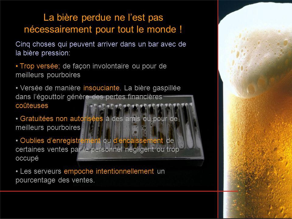 La bière perdue ne l'est pas nécessairement pour tout le monde !