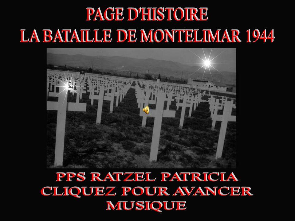 LA BATAILLE DE MONTELIMAR 1944