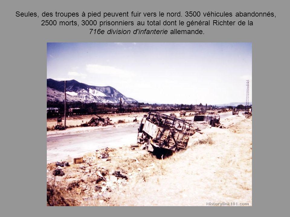 2500 morts, 3000 prisonniers au total dont le général Richter de la