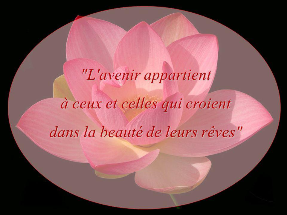 à ceux et celles qui croient dans la beauté de leurs rêves