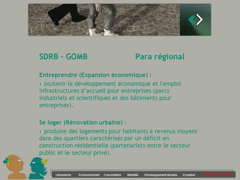 SDRB – GOMB Para régional