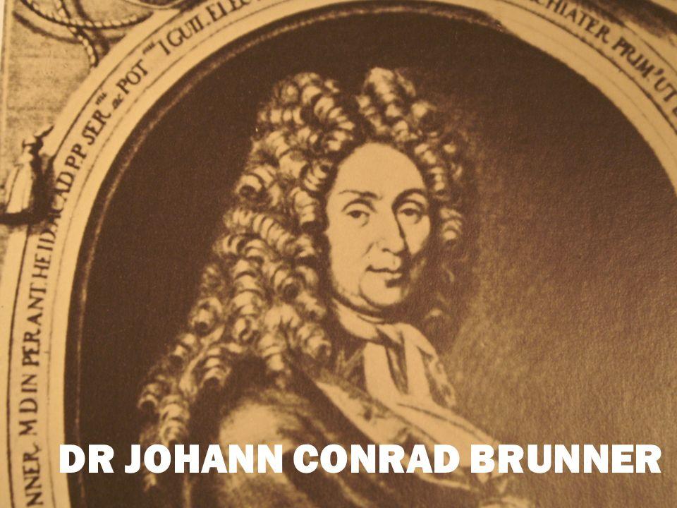 DR JOHANN CONRAD BRUNNER