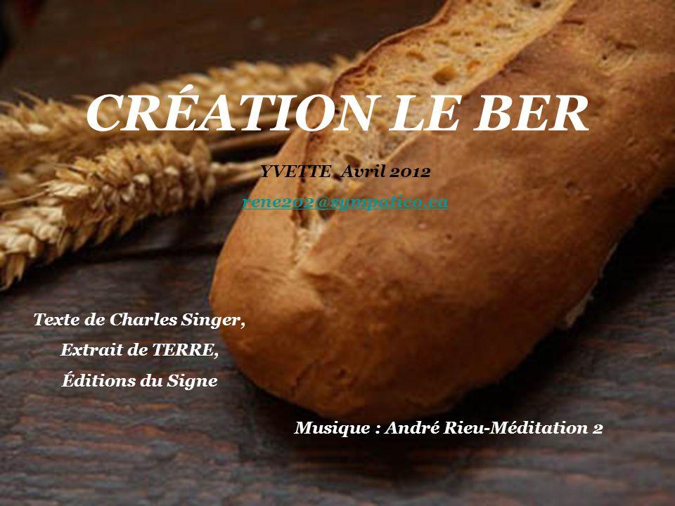 Texte de Charles Singer, Musique : André Rieu-Méditation 2