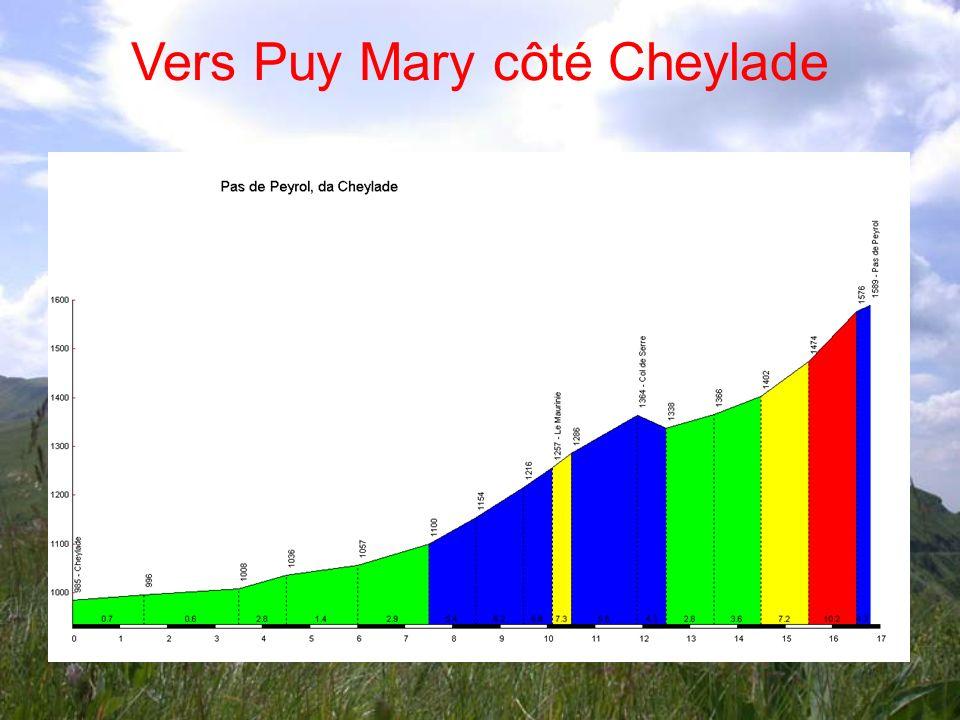 Vers Puy Mary côté Cheylade