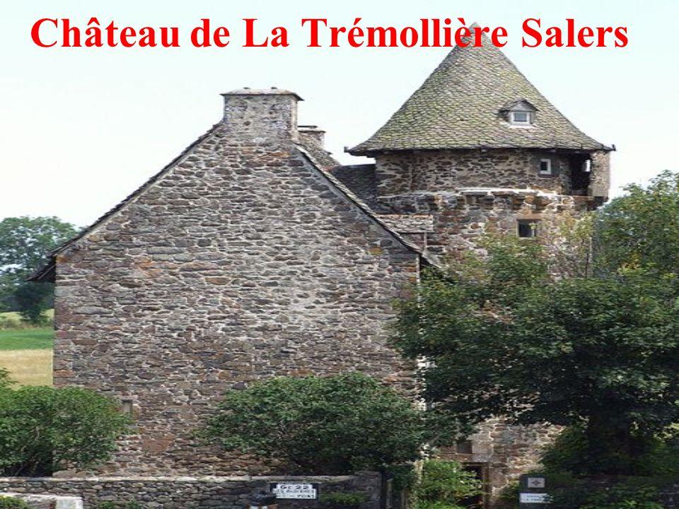 Château de La Trémollière Salers