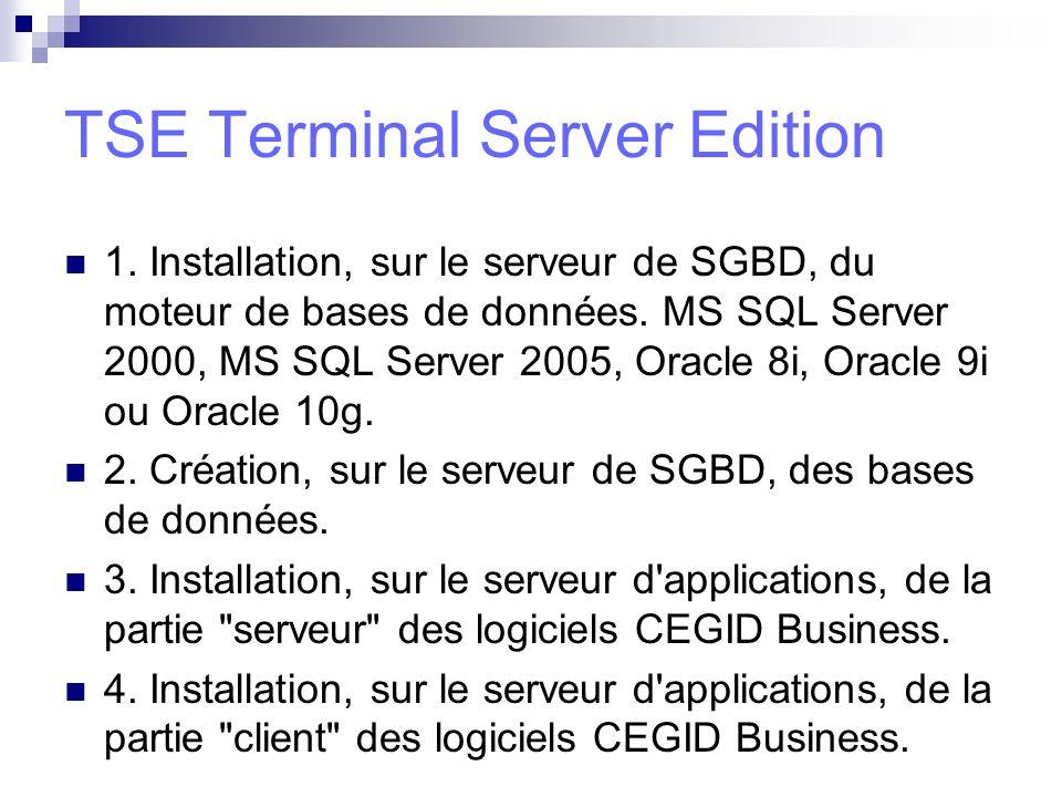 TSE Terminal Server Edition