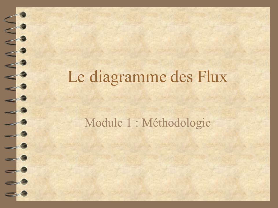 Le diagramme des Flux Module 1 : Méthodologie
