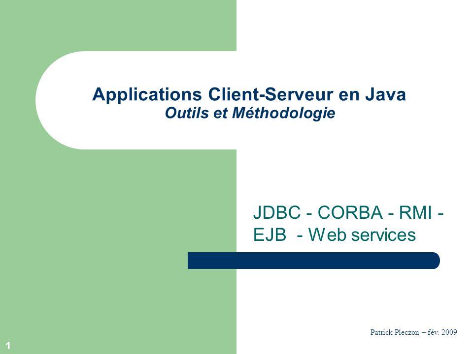 Applications Client-Serveur en Java Outils et Méthodologie