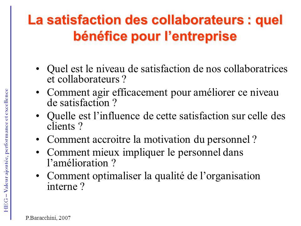 La satisfaction des collaborateurs : quel bénéfice pour l'entreprise