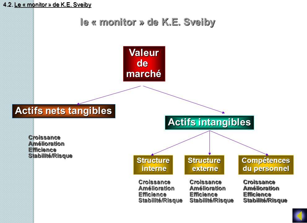 le « monitor » de K.E. Sveiby