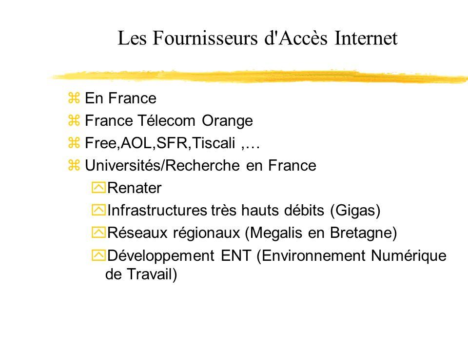 Les Fournisseurs d Accès Internet