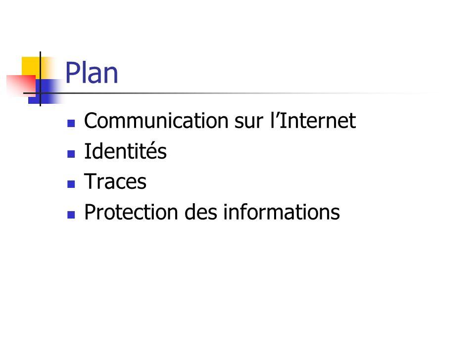 Plan Communication sur l'Internet Identités Traces