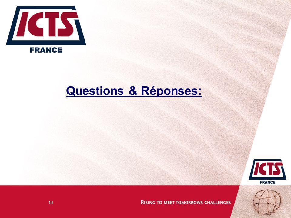 Questions & Réponses: