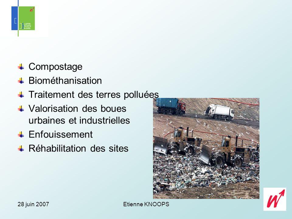 Traitement des terres polluées