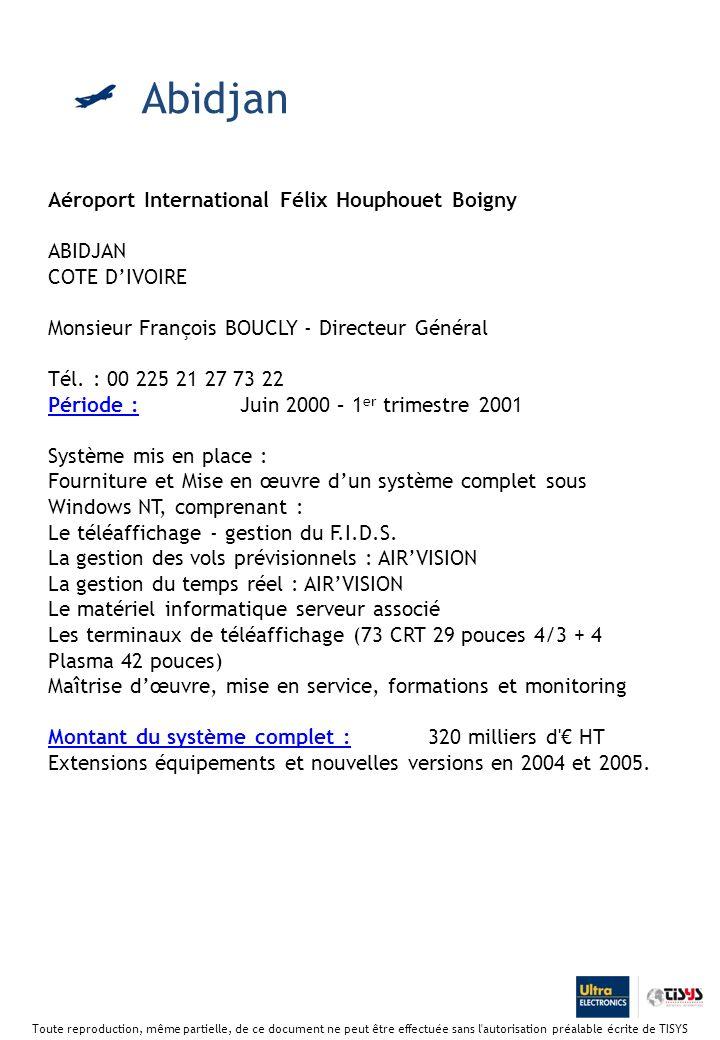 Abidjan Aéroport International Félix Houphouet Boigny ABIDJAN