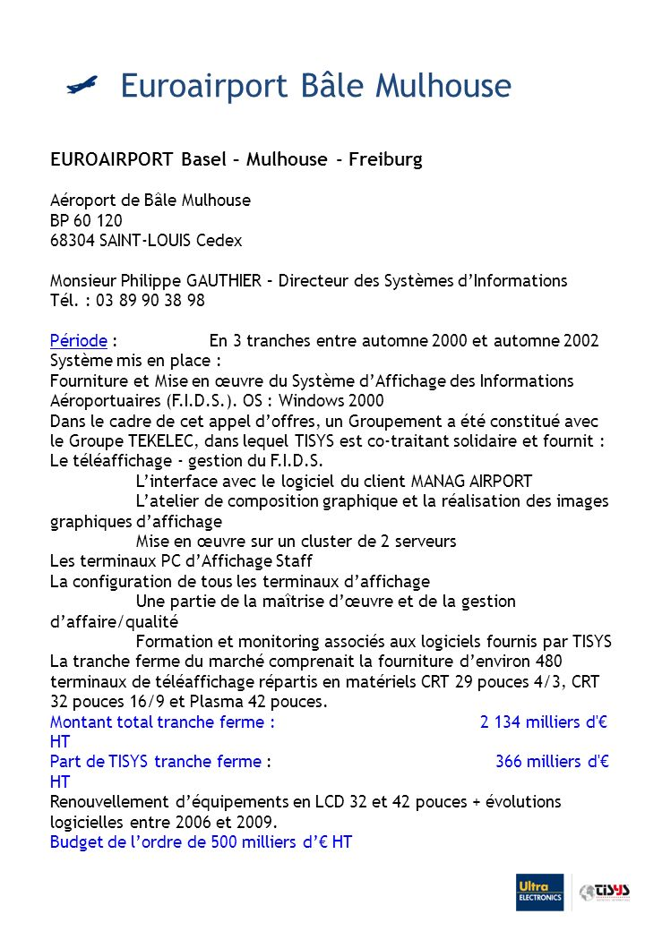 Euroairport Bâle Mulhouse