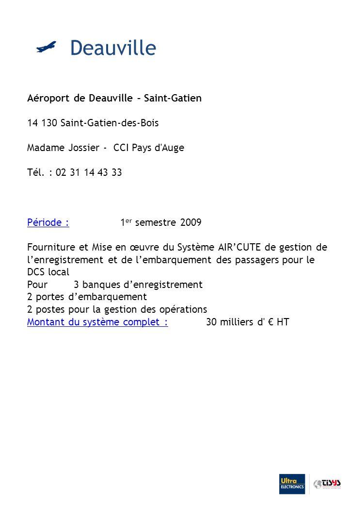 Deauville Aéroport de Deauville – Saint-Gatien